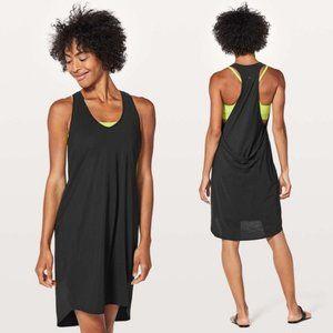 Lululemon Rejuvenate Dress NWT Black